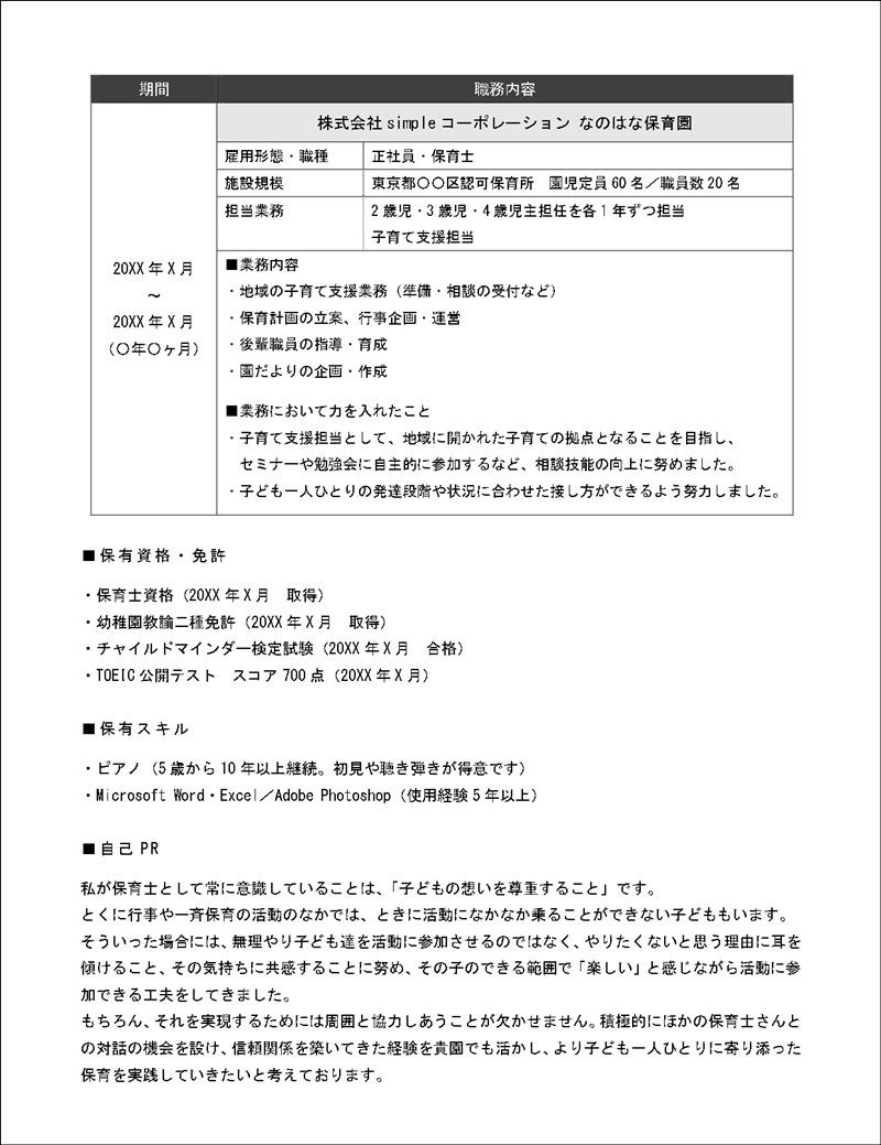 修正版/職務経歴書(MSゴシック)_page-0002
